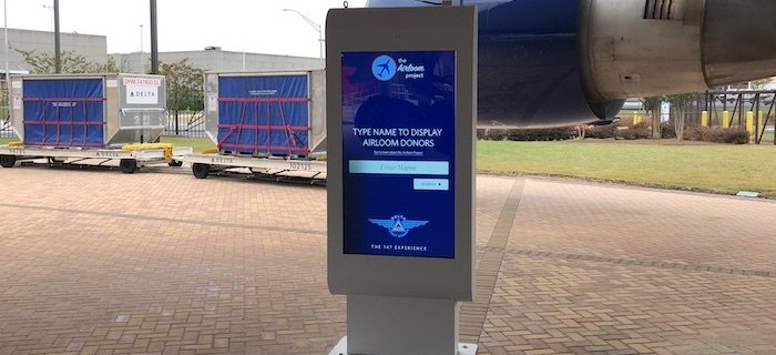Delta Outdoor Touch Screen Kiosk Touch Foil