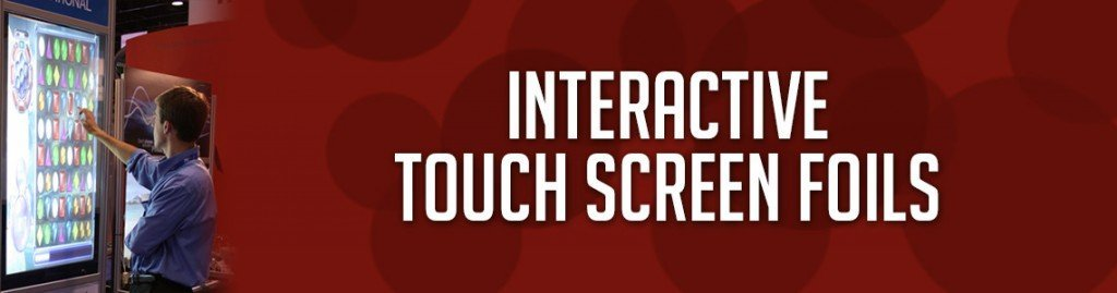 interactive touch screen foils